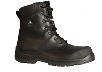 BB6300 Men's Traction Black Leather Boot